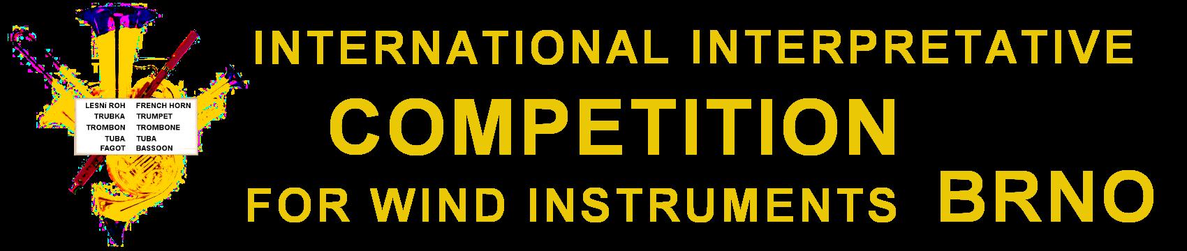 International interpretative wind instruments competition Brno